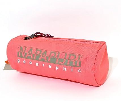 Estuche Napapijri Escuela Holder Neon Pink Tombolino Porta bolígrafos colores: Amazon.es: Oficina y papelería