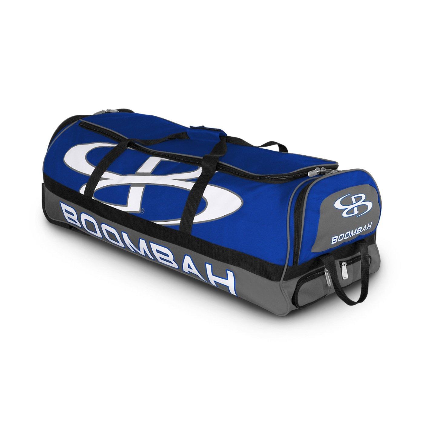 (ブームバー) Boombah Bruteシリーズ キャスター付きバットケース 野球ソフトボール用 35×15×12–1/2インチ 49色展開 4本のバットと用具を収納可能 B01N7BWPJK Royal/Gray Royal/Gray