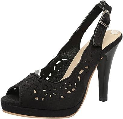 Peep Toe High Heels Dress Sandals