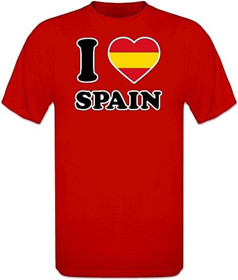 Shirtcity Camiseta I Love Spain by: Amazon.es: Ropa y accesorios