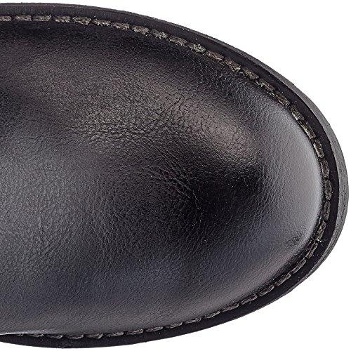 Marco Tozzi Parker 25602 - Bottes Noires Pour Femmes (fabriquées Par Lhomme)