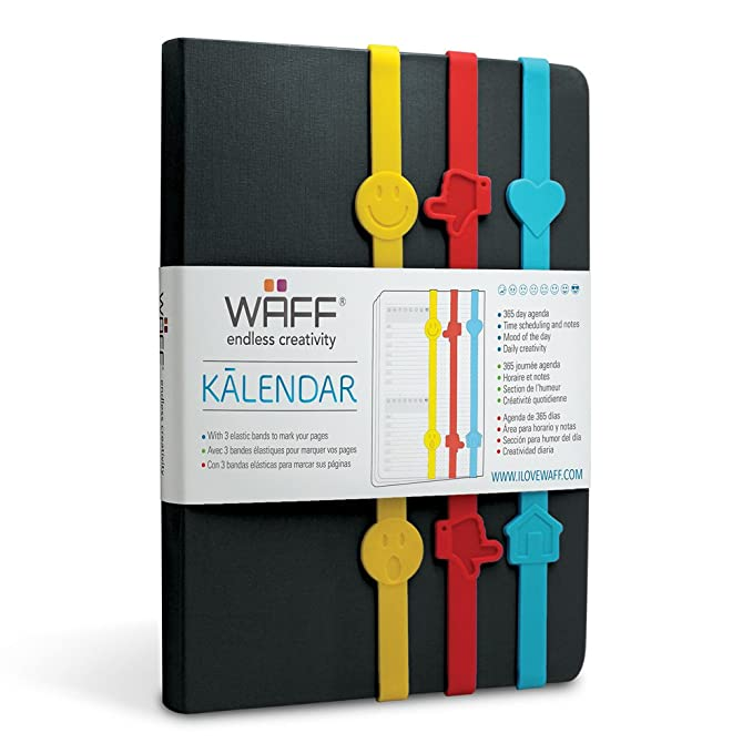 Amazon.com: WAFF, Kalendar with 3 Silicone Bands, 8.5