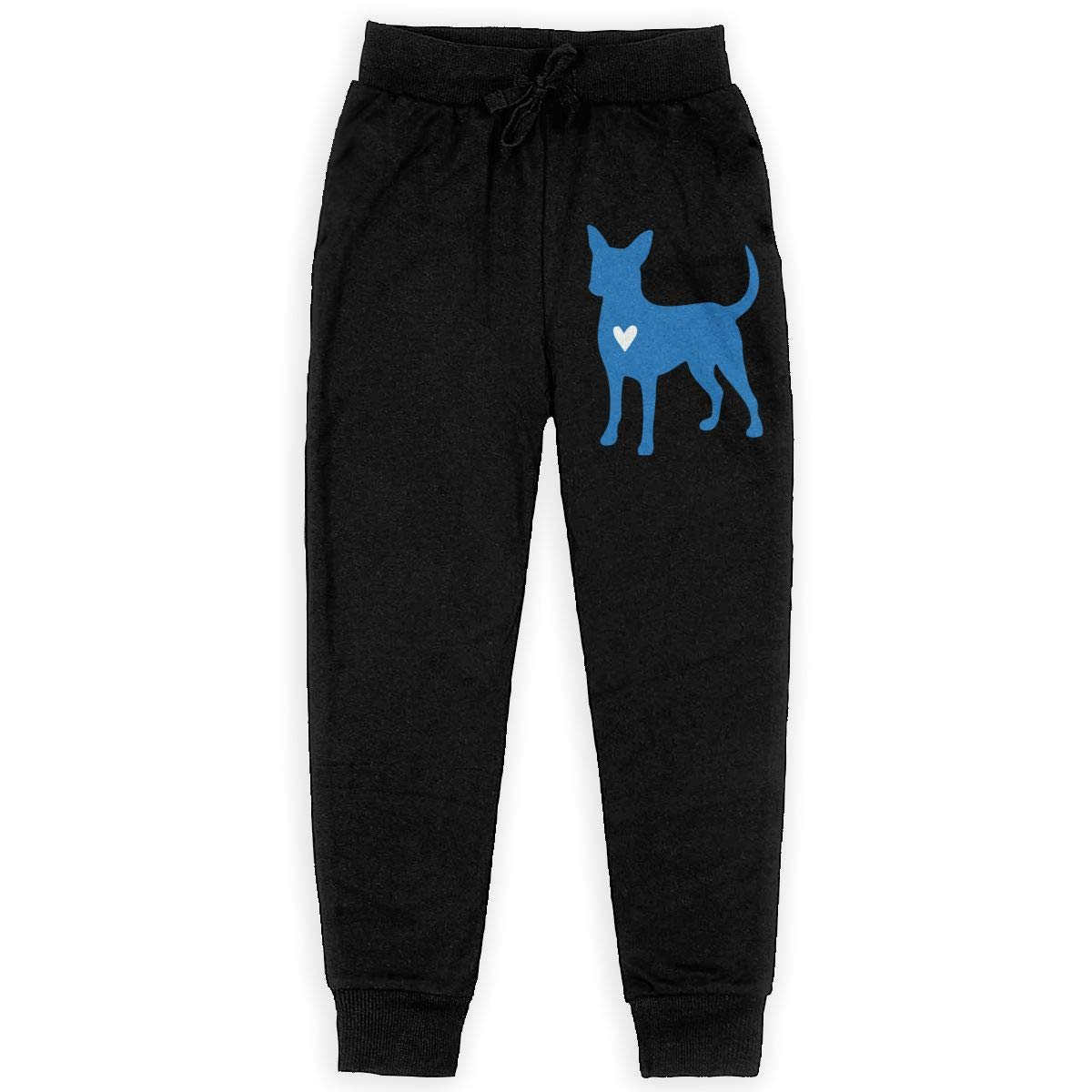 Chihuahua Clipart Silhouette Soft//Cozy Sweatpants Youth Trousers Girls for Teenager Girls