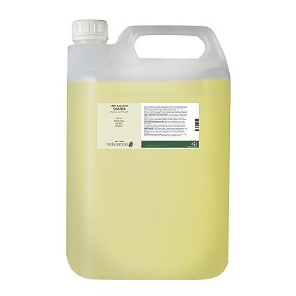 Naissance Aceite de Ricino 5 litros - Puro, natural, vegano, sin hexano,