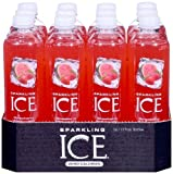Sparkling ICE Spring Water (Strawberry Watermelon, 17 Oz Pack of 12 Units)