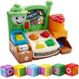 Fisher-Price Laugh, Learn Fruits and Fun Learning Market Kids Learning Developmental Activity Toys with Shape Blocks