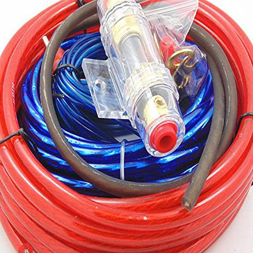 Universal Car Auto Complete Amplifier Wiring Kit Gauge For Speakers Subwoofers: