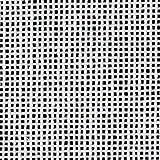 """Zweigart Mono Orange Line Deluxe Canvas 18 Mesh, White, 18"""" X 20"""""""