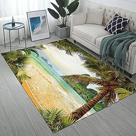 Floor Mat Rug Contemporary Area Carpet Non-Slip Rug Home Kitchen Bathroom US