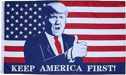 3x5 Keep America Great President Donald Trump MAGA 2020 Republican Outdoor Flag