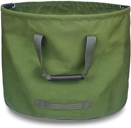 Bolsa de Basura de jardín, Lona multifunción Bolsa de Hoja caduca de jardín Bolsa de Basura de jardín de Alta Capacidad para la Basura Creativa, Verde, (Tamaño : 18 * 22CM): Amazon.es: Hogar