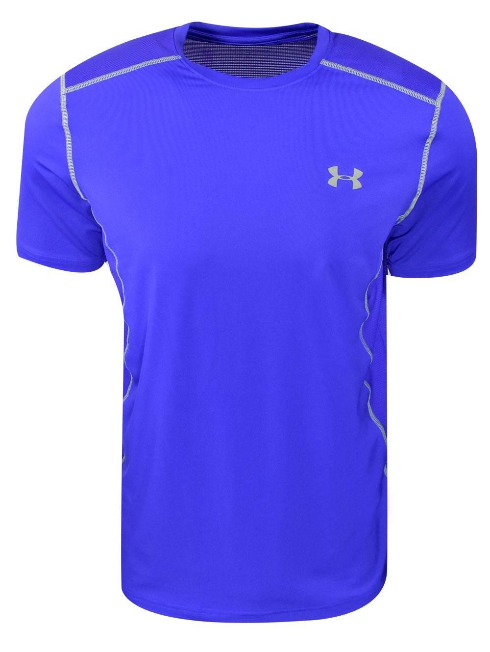 (アンダーアーマー) UNDER ARMOUR ヒットヒートギアSS(トレーニング/Tシャツ/MEN)[1257466] B06ZZ3BB1S 4L Royal Blue/Steel Royal Blue/Steel 4L