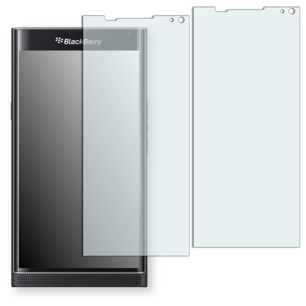 GOLEBO 2X Anti-Glare Screen Protector for BlackBerry Priv (Anti-Reflex, Air Pocket Free Application, Easy to Remove) (Reduced foil)