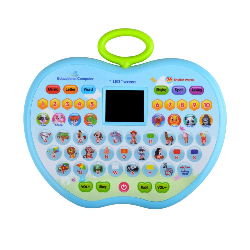 XIMEN Education Toy for Kids Girls, Tablet Toys for 1-3 Year Old Girls Boys Birthday Gift Age 1-3 Girl Toddlers Learning Toy Gift for 1-3 Year Old Kid Boys Children by XIMEN