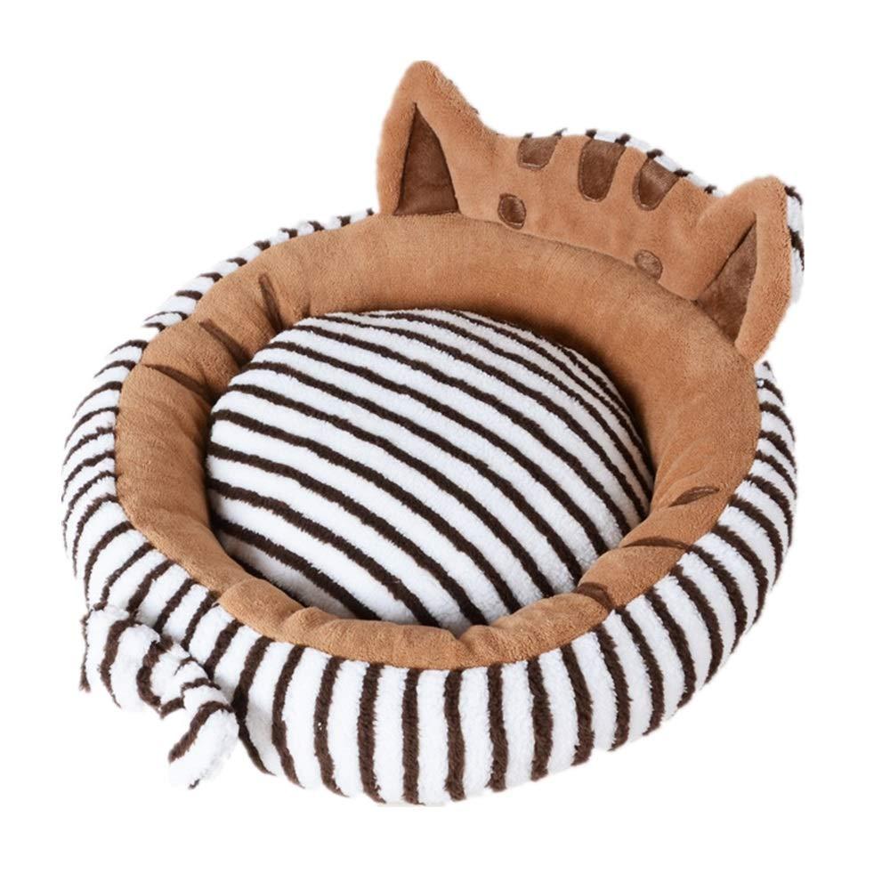 L Cat nest cat Sleeping Bag Four Seasons Universal cat House cat House Small Dog Kennel pet Supplies Winter Warm (Size   L)