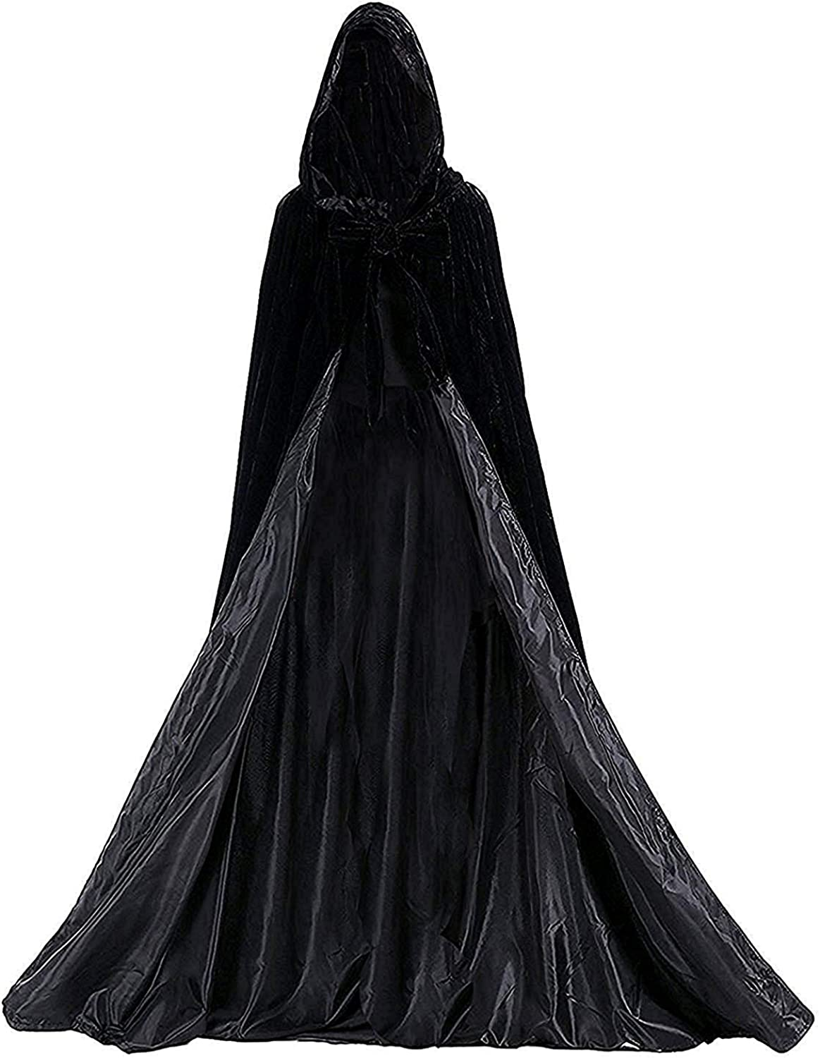 Halloween Cloak Long Hooded...