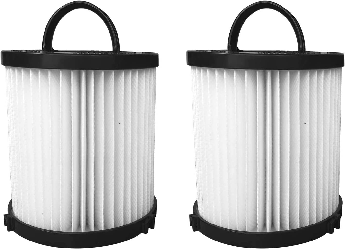 Aliddle 2-PACK Hepa Filter for Eureka DCF-21 Vacuum Part # 67821, 68931, 68931A, EF91, EF-91, EF-91B Airspeed Washable Reusable Vacuum Filter