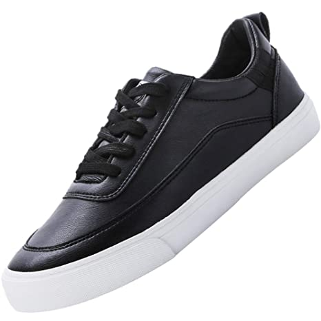 6550a4b2b897f Camel Crown Fashion Court Pro Sneaker for Men White Black Skate Shoes  Leather Casual Classic Walking Sport Street Shoes