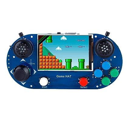 Amazon com: fosa Portable Handheld Raspberry Pi 3B+ Game Console 3 5