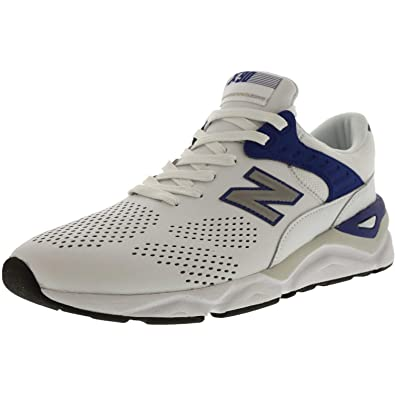 fd1b01409d0ee New Balance Mens Lifestyle Mode De Vie Leather Low Top Lace Up Fashion  Sneakers