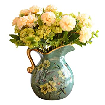 Amazon Com Home Decor Vases Ceramic Vase Girl European