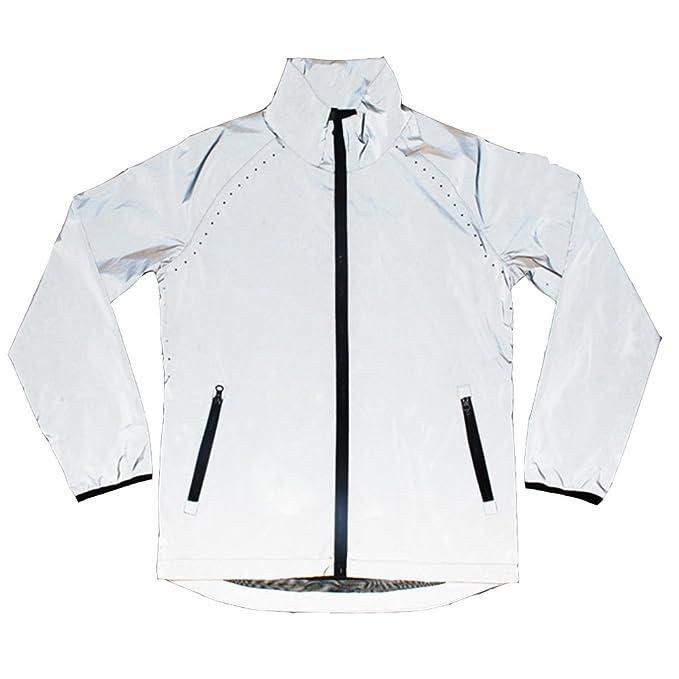 Amazon.com: edgogvl para hombre Outwear reflectante 3.3 yard ...