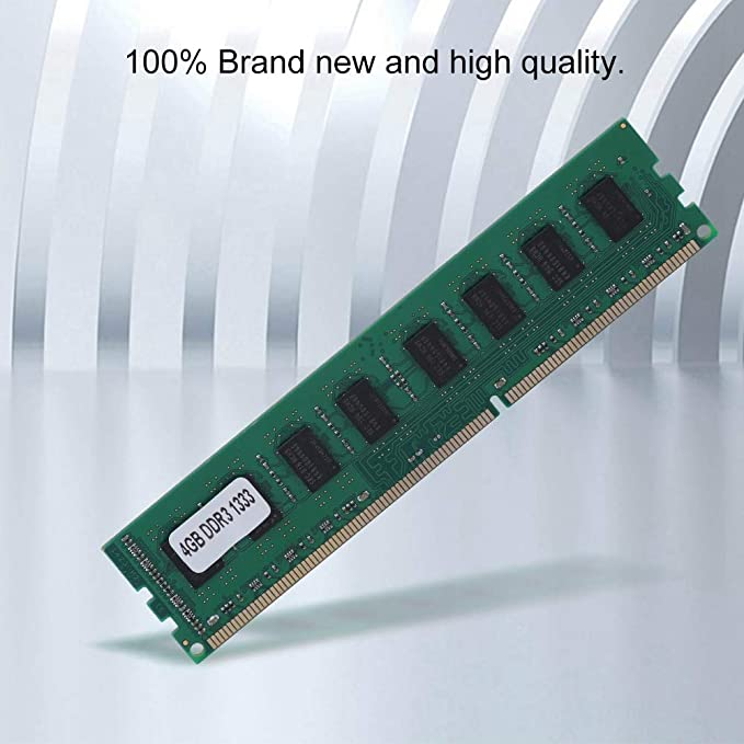 Mugast PC3-10600 4GB DDR3 1333MHz 240Pin Memoria para AMD ...