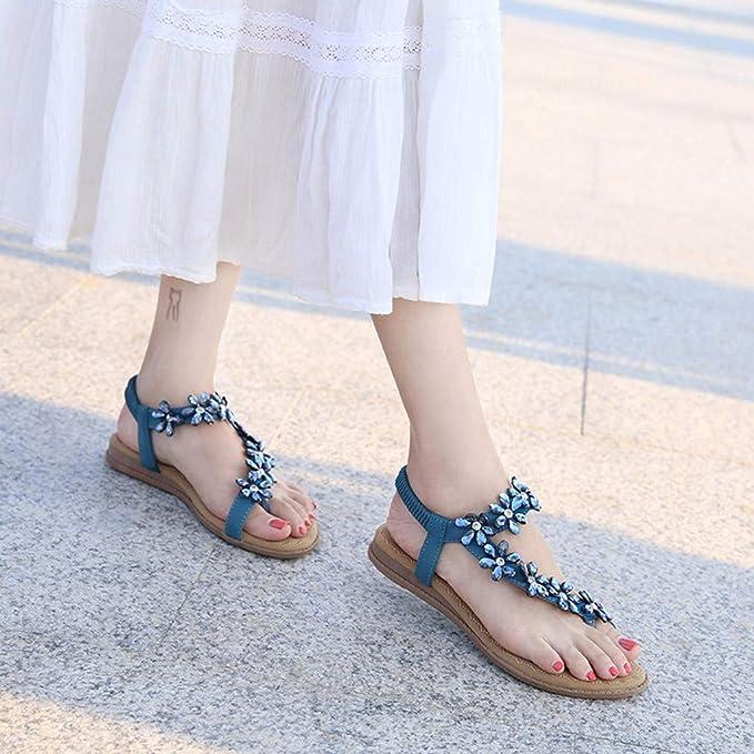 Darringls_Sandalias de Primavera Verano Mujer,Zapatos Casual de ...