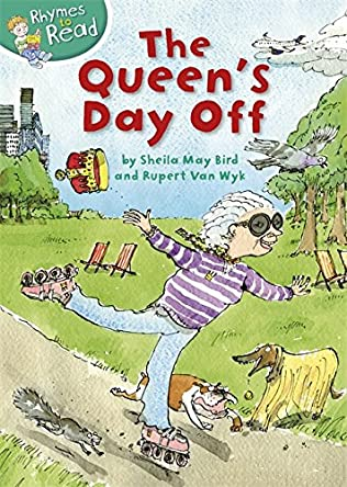 book cover of The Queen\'s Day Off