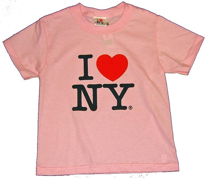 I Love Heart Minnesota Pink Kids T-Shirt
