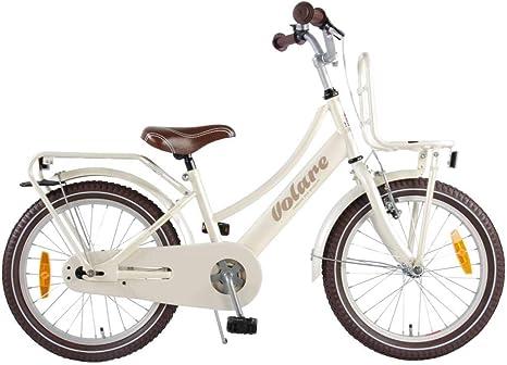 .Volare Bicicleta Niña Excellent 18 Pulgadas Freno Delantero al ...