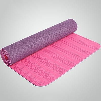 183 * 61cm * Maillot de sport antidérapant 6 Mm Fitness mat de yoga Multi-couleur Optionnel