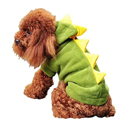 Amazoncom Arjosa Puppies Dogs Hoodie Coats Pets Jumpsuits Dragon