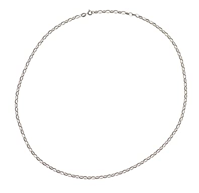 Adara 9 ct Yellow Gold Oval Belcher Chain of 50.8 cm
