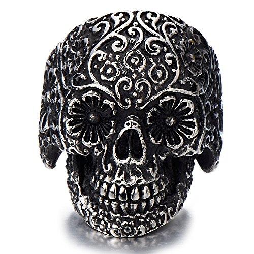 Stainless Steel Gothic Jewelry Oxidized