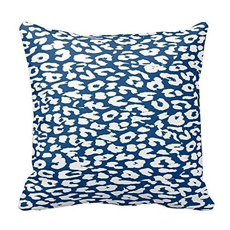 Amazon.com: Little Dreams Blue and White Leopard Animal ...