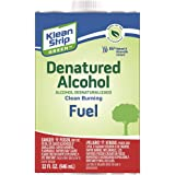 Klean-Strip Green QKGA75003 Denatured Alcohol, 1-Quart