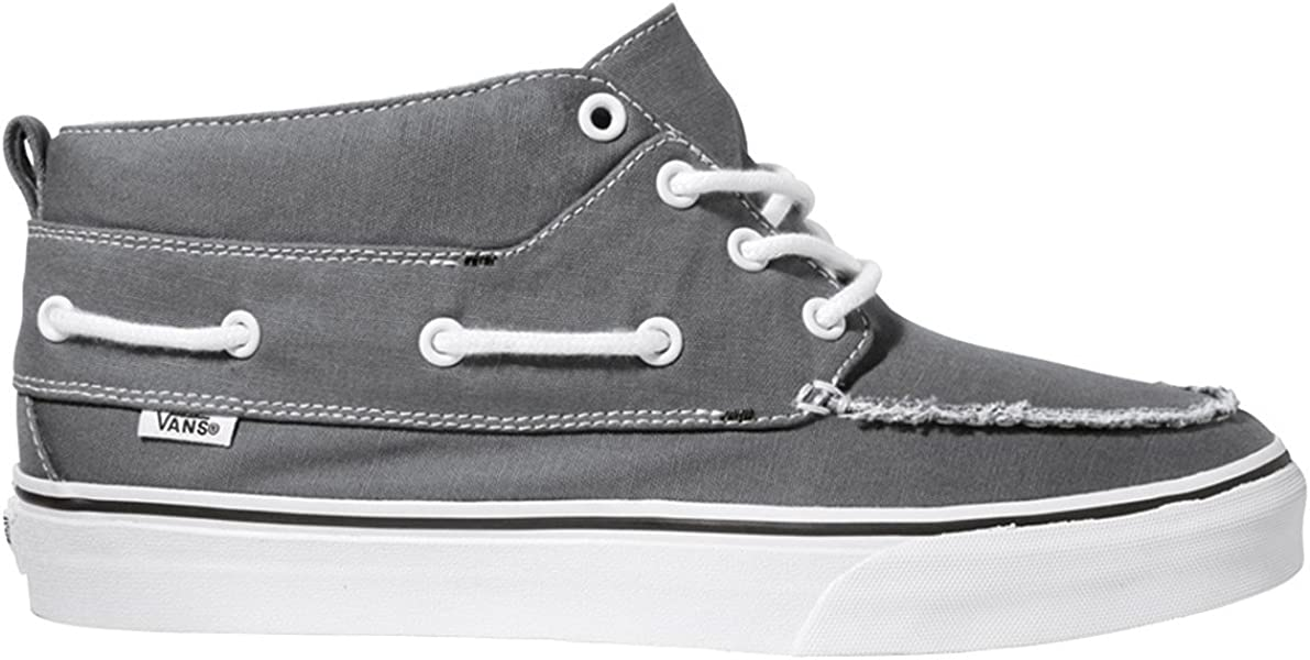 a3173defd8847 Amazon.com | Vans - U Chukka Del Barco Shoes In Pewter/Black, Size ...