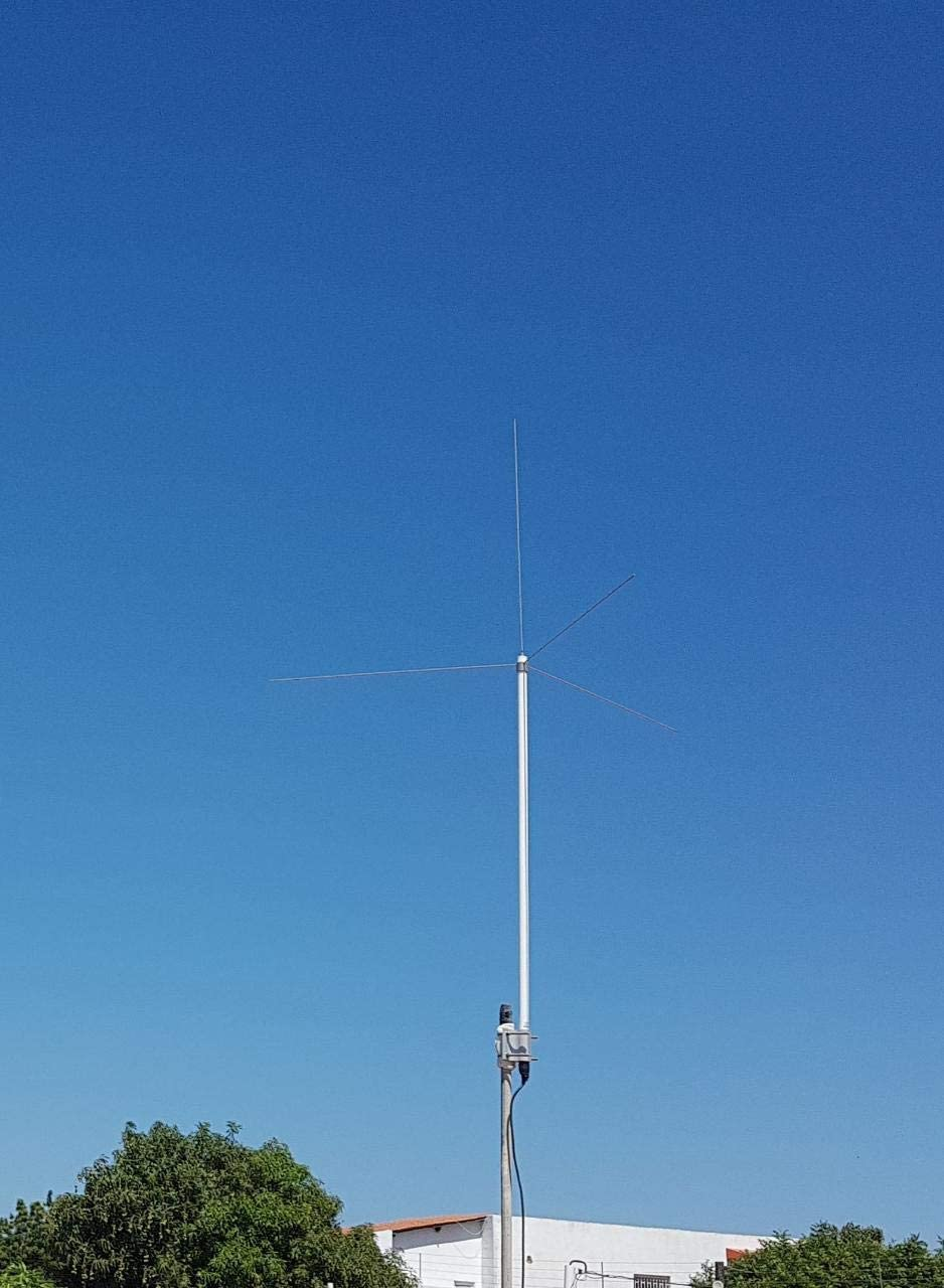 AirNav ADS-B 1090 Mhz y VHF Airband antena exterior con conector SMA
