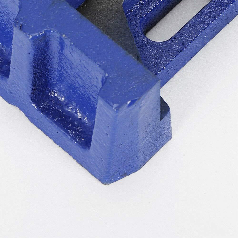 abrazadera de inglete para m/áquina de soldadura tensor de /ángulo Tornillo de banco angular de 100 mm