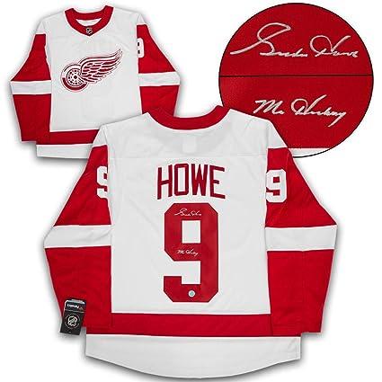 lowest price a1ec9 24d4a Gordie Howe Detroit Red Wings Autographed Autograph Mr ...