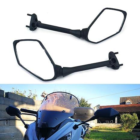 Amazon.com: Motorcycle Rear View Side Mirrors For Kawasaki ...