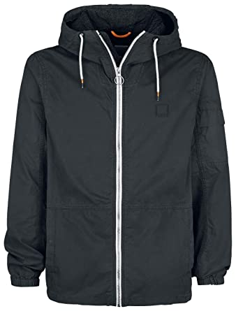 Bench Easy Washed Cotton Jacket Jacke schwarz M: