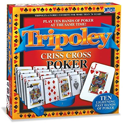 0d4105f272bad Image Unavailable. Image not available for. Color: Tripoley Criss-Cross  Poker