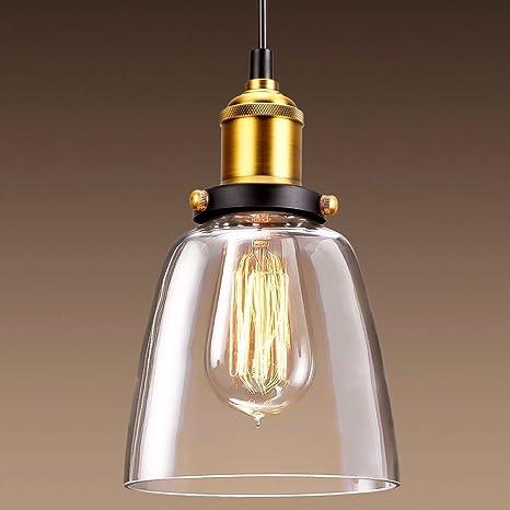 vintage pendant light cmyk industrial chandelier lamp shade clear