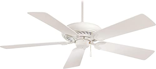Minka-Aire F568-SWH Supra 52 Inch Pull Chain Ceiling Fan