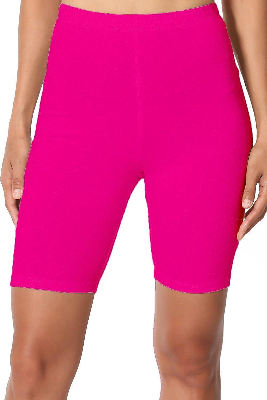 fe3940d5695fa Omikka Women's Bio-Wash Knee Length Fitness Workout Running Yoga ...