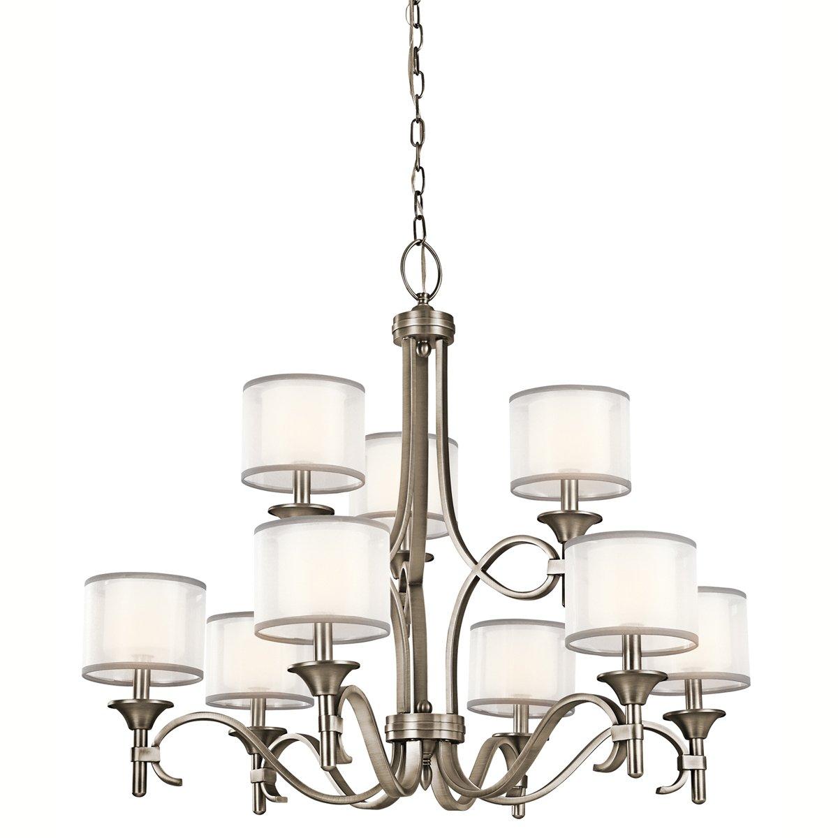 Kichler 42382ap nine light chandelier amazon arubaitofo Choice Image