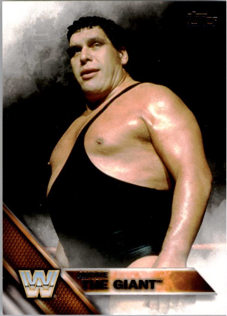 2018 Topps WWE Then Now Forever #188 Andre the Giant Wrestling Trading Card
