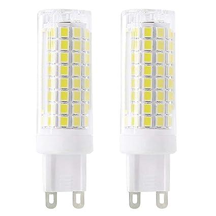 Nuevo tipo G9 LED bombillas 6 W equivalente a 75 W bombilla halógena 95 V-